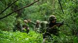 近日,陆军第75集团军某旅组织火力分队和侦察分队进行了一场地面侦察引导火力打击行动训练。此次训练依托实弹检验为背景,旨在检验侦察分队与火力分队的配合,以及考验侦察兵综合体能、计算作业、目标捕捉、联调联试等多个训练课目的实训成果。图为规划行进路线