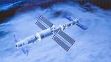 这是6月17日在北京航天飞行控制中心拍摄的神舟十二号载人飞船与天和核心舱自主快速交会对接成功的画面,与此前已对接的天舟二号货运飞船一起构成三舱(船)组合体。金立旺 摄