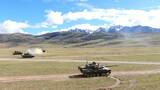 坦克分队对固定目标射击