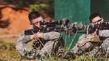 坐姿据枪耐力训练