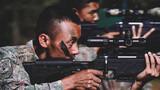 站姿据枪耐力训练