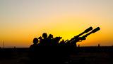 高炮跟踪瞄准训练