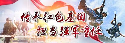 """""""传承红色基因 担当强军重任"""":中国军视网系列网络专题"""