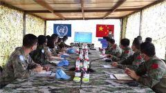 中国第11批赴南苏丹(瓦乌)维和工兵分队高标准通过联南苏团首次战备能力评估