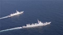 人民海军成立72周年:勇闯大洋 人民海军履行使命的历史舞台