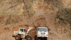 刚果(金):中国维和工兵分队完成3处道路涵管修复任务