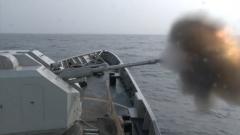 【直击演训场】多海区机动 海军护卫舰编队长航时多课目训练