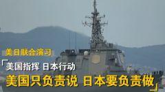 杜文龙:针对钓鱼岛 美日在东海联合演习主要演练协同作战系统