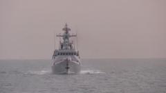 【直击演训场】黄海海域 海军某护卫舰支队多课目实弹射击