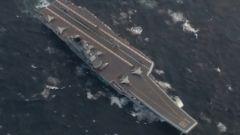 """杜文龙:辽宁舰航母编队开展远海训练 严重警告""""台独""""分子"""
