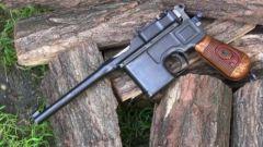 结构奇特的毛瑟M1896手枪