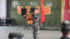 """文艺轻骑队走进武警部队送去""""文化大餐"""""""