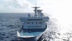 筑梦深蓝 远望5号船再赴大洋执行海上测控任务