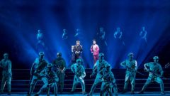 現代京劇《黨的女兒》在解放軍北京老干部活動中心上演