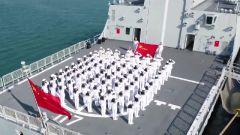 人民海军成立72周年:红心向党 人民海军发展壮大的基因密码