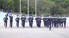 中式队列:香港纪律部队的一小步,香港长治久安的一大步