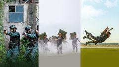 """【軍視界】練兵備戰!帶你去看兵哥哥們的""""硬核""""訓練"""
