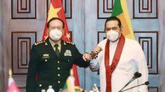 斯里兰卡总统戈塔巴雅 总理马欣达分别会见魏凤和