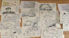 退伍军人刘泽湘坚持10年创作近两千幅手绘  画笔描摹英雄 抒发爱党心声