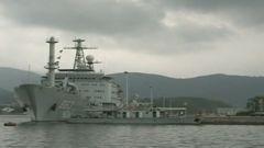 中国军队协助印尼救援失事潜艇