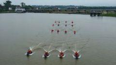 江西赣州:备战汛期 军地联合组织抗洪抢险演练