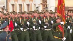 俄罗斯举行胜利日阅兵全流程彩排