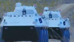 【直击演训场】极限驾驶 装甲车闭窗驰骋盘山路