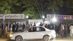 阿富汗喀布尔一学校附近发生爆炸
