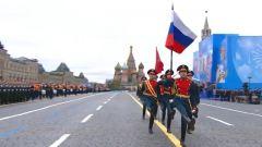 俄罗斯纪念卫国战争胜利76周年阅兵式