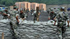 贵州省普安县人武部组织开展突发性实战救援演练