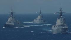 """杜文龙:为向美国示好 澳政府再派4艘军舰穿航南海""""刷存在"""""""
