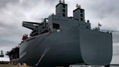 """美军新型""""远征移动基地舰""""正式服役 与传统的航母有何区别?"""