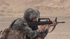 紧贴实战 新疆喀什军分区开展创破纪录比武竞赛