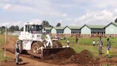 刚果(金):中国维和工兵分队完成卡乌姆政府军营地道路修复任务