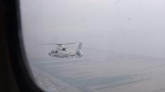雏鹰展翅!舰载直升机新飞行员进行首次单飞训练
