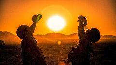 大漠剪影丨枕戈坐甲戰黃沙