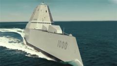 """高超声速导弹配隐身战舰 美军欲""""复活""""朱姆沃尔特级驱逐舰?"""