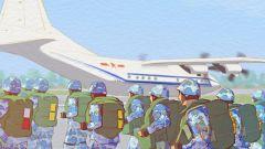 【军视萌漫】真羡慕,空降新兵的首次大飞机跳伞