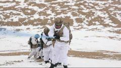 【直击演训场】海拔5800米 高原侦察兵极限训练
