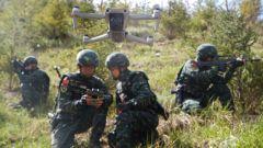 武警青海总队机动第一支队开展野外昼夜实战化演练剪影