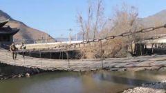 【彩云之南的红色足迹五】茶马古道上的铁红桥