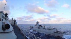 【直击演训场】作战支援演练 锤炼多舰艇协同作战能力