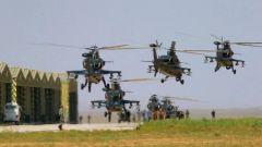 【直擊演訓場】漠北草原 陸航多型直升機實兵實彈演練