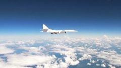 俄罗斯战略轰炸机在波罗的海例行飞行