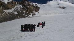 海拔5600米 偵察兵挑戰雪山極限訓練