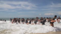【直擊演訓場】東南沿海:數千官兵展開勇士與大海的較量