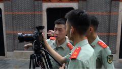 """廣受好評!帥氣又博學的武警戰士拍攝百期短視頻帶你""""潮""""學黨史"""