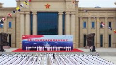 中國人民解放軍海軍博物館開館