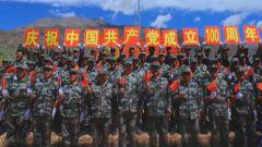 各部隊多種形式慶祝建黨100周年