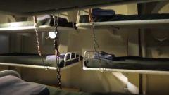 高效利用空間 狹小艙室竟能容納30人